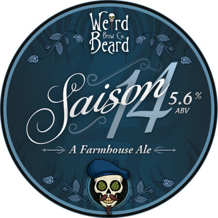 Weird Beard Brew Co Saison 14 – Buy Beer online on EeBriaTrade.com