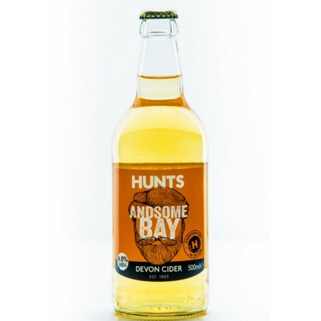 Hunt's Cider Andsome Bay 4.8% – Buy Cider online on EeBriaTrade.com