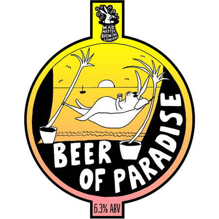 Mad Hatter Brewing Company Beer of Paradise – Buy Beer online on EeBria.com
