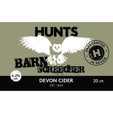 Hunt's Cider Barn Screecher – Buy Cider online on EeBriaTrade.com