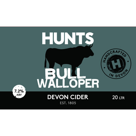 Hunt's Cider Bull Walloper – Buy Cider online on EeBriaTrade.com