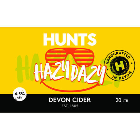 Hunt's Cider Hazy Dazy – Buy Cider online on EeBriaTrade.com