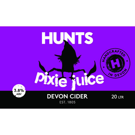 Hunt's Cider Pixie Juice Fruit Cider 3.8% – Buy Cider online on EeBriaTrade.com