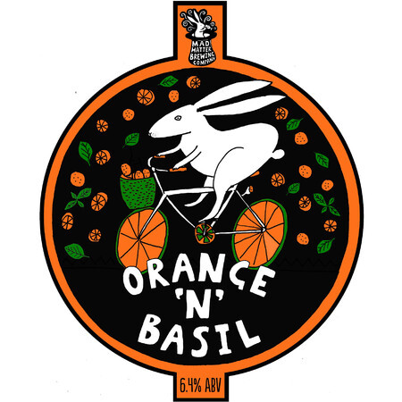 Mad Hatter Brewing Company Orange 'N' Basil – Buy Beer online on EeBriaTrade.com