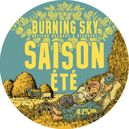 Burning Sky Brewery Saison Ete – Buy Beer online on EeBriaTrade.com