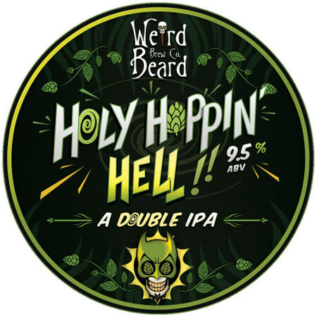 Weird Beard Brew Co Holy Hoppin Hell – Buy Beer online on EeBriaTrade.com