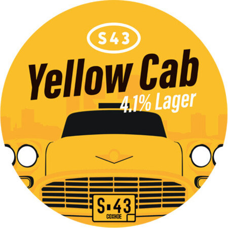 S43 Brewery Yellow Cab Lager – Buy Beer online on EeBriaTrade.com