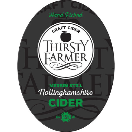 Farmer Fear Cider Thirsty Farmer Medium – Buy Cider online on EeBriaTrade.com