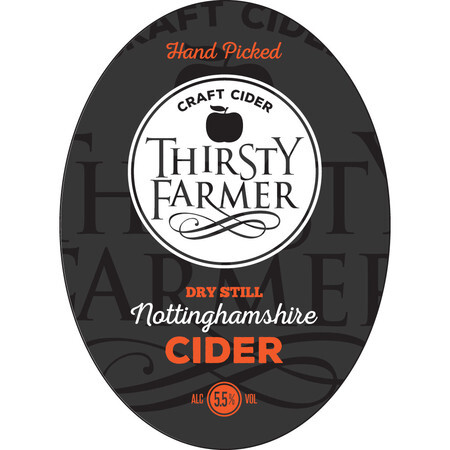 Farmer Fear Cider Thirsty Farmer Dry – Buy Cider online on EeBriaTrade.com