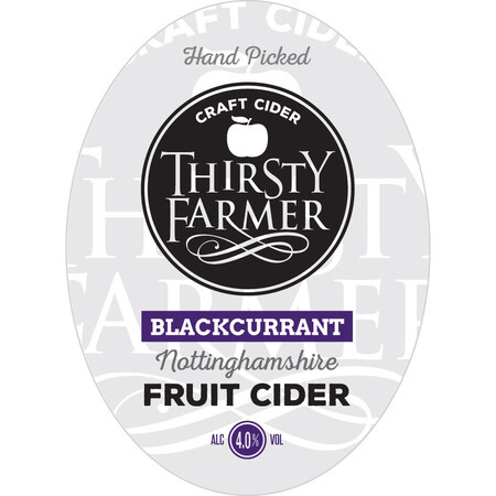 Farmer Fear Cider Thirsty Farmer with a hint of... BLACKCURRANT CIDER – Buy Cider online on EeBriaTrade.com