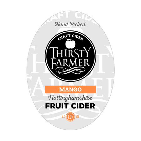 Farmer Fear Cider Thirsty Farmer Mango – Buy Cider online on EeBriaTrade.com