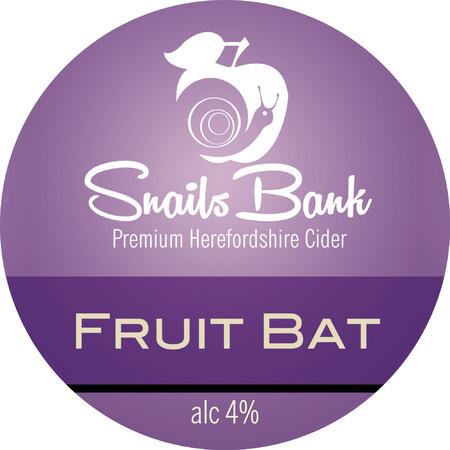 Buy Snails Bank Cider Fruitbat   Buy Cider online direct from Snails Bank  Cider   EeBriaTrade.com