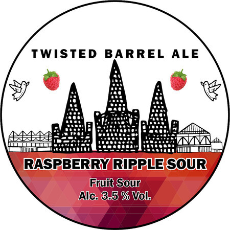 Twisted Barrel Raspberry Ripple Sour – Buy Beer online on EeBriaTrade.com