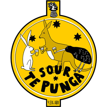 Mad Hatter Brewing Company Te Punga Sour – Buy Beer online on EeBriaTrade.com