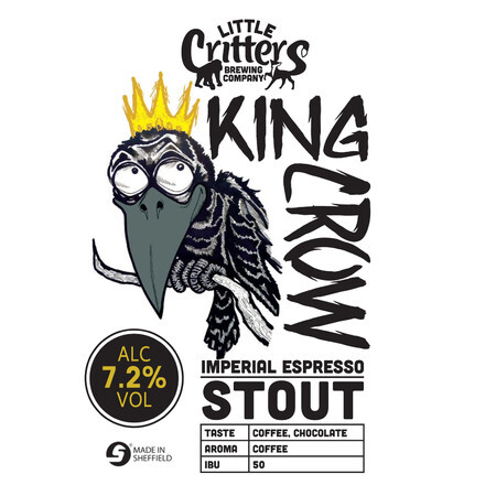 Little Critters Brewing Company King Crow – Buy Beer online on EeBriaTrade.com