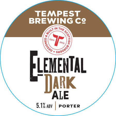 Tempest Brewing Co Elemental Dark Ale – Buy Beer online on EeBriaTrade.com