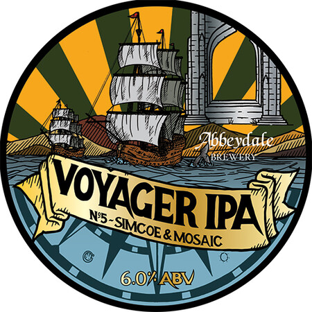 Abbeydale Brewery Voyager IPA #5 - Simcoe, Mosaic – Buy Beer online on EeBriaTrade.com