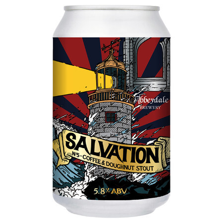 Abbeydale Brewery Salvation #5 - Coffee & Doughnut Stout – Buy Beer online on EeBriaTrade.com