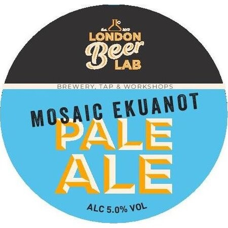 London Beer Lab Mosaic & Ekuanot Pale Ale – Buy Beer online on EeBriaTrade.com