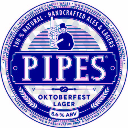 Pipes Brewery Oktoberfest Lager – Buy Beer online on EeBriaTrade.com