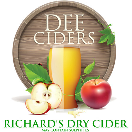 Dee Ciders Richard's Dry Cider – Buy Cider online on EeBriaTrade.com
