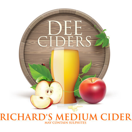 Dee Ciders Richard's Medium Cider – Buy Cider online on EeBriaTrade.com