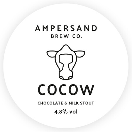 Ampersand Brew Co CoCow - Chocolate & Milk Stout – Buy Beer online on EeBriaTrade.com