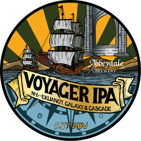 Abbeydale Brewery Voyager #6 - Eukanot, Galaxy, Cascade – Buy Beer online on EeBriaTrade.com