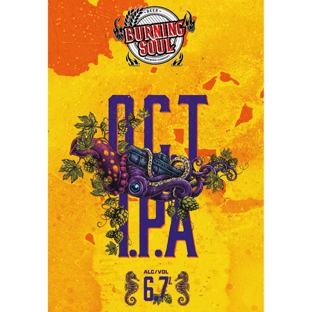 Burning Soul O.C.T IPA – Buy Beer online on EeBriaTrade.com