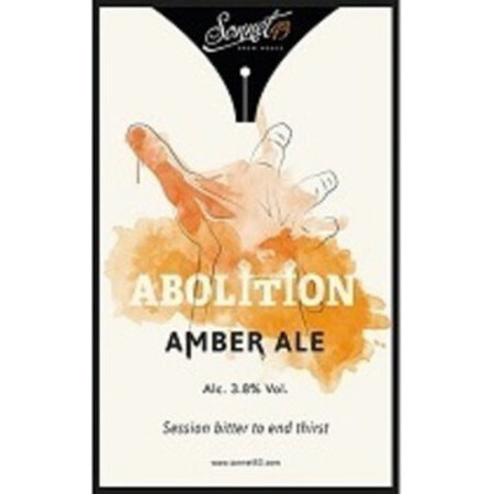 Sonnet 43 Brew House Abolition – Buy Beer online on EeBriaTrade.com