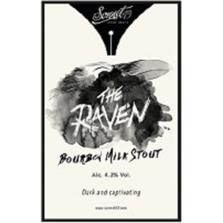 Sonnet 43 Brew House The Raven Bourbon Milk Stout – Buy Beer online on EeBriaTrade.com
