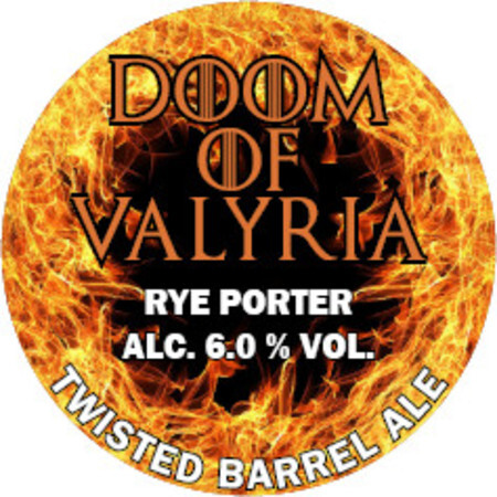 Twisted Barrel The Doom of Valyria – Buy Beer online on EeBriaTrade.com