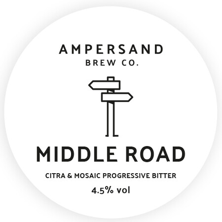 Ampersand Brew Co Middle Road - Citra & Mosaic Progressive Bitter – Buy Beer online on EeBriaTrade.com