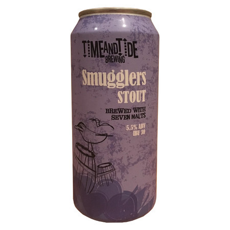Time and Tide Brewing Smuggler's Stout Cans – Buy Beer online on EeBriaTrade.com