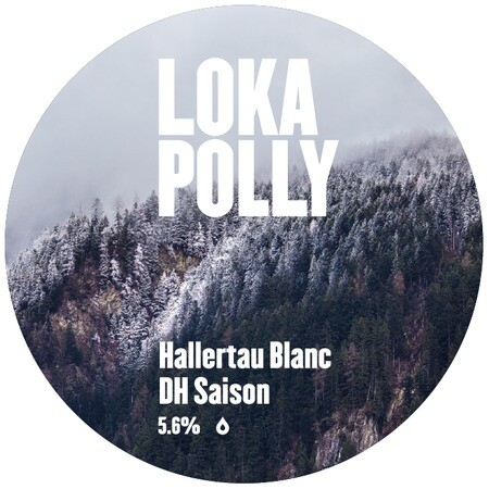 Loka Polly  Hallertau Blanc DH Saison - 5.6% – Buy Beer online on EeBriaTrade.com