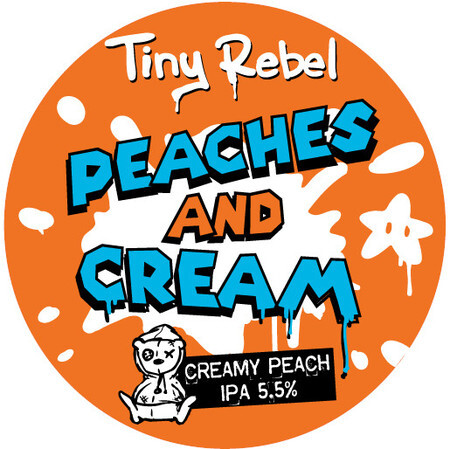 Tiny Rebel Brewing Peaches & Cream IPA – Buy Beer online on EeBriaTrade.com