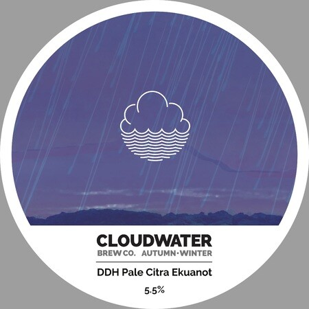Cloudwater Brew Co DDH Pale Citra Ekuanot (G.393) – Buy Beer online on EeBriaTrade.com