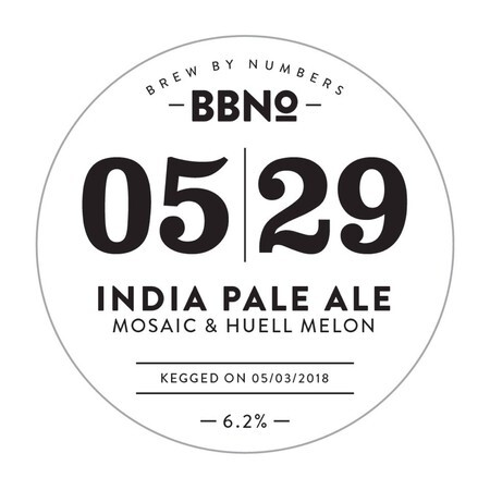Brew By Numbers 05|29 - India Pale Ale - Mosaic & Huell Melon – Buy Beer online on EeBriaTrade.com