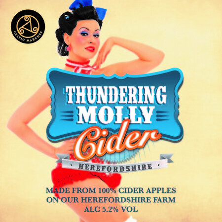 Celtic Marches Thundering Molly 30L Dolium – Buy Cider online on EeBriaTrade.com