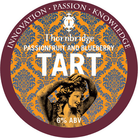 Thornbridge Brewery Passionfruit and Blueberry Tart – Buy Beer online on EeBriaTrade.com