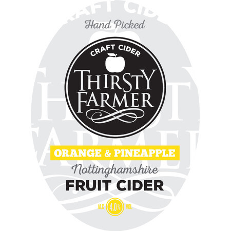 Farmer Fear Cider Thirsty Farmer Orange & Pineapple – Buy Cider online on EeBriaTrade.com