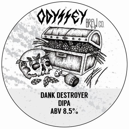 Odyssey Brew Co. Dank Destroyer *Eco-Keg Slimline*  – Buy Beer online on EeBriaTrade.com