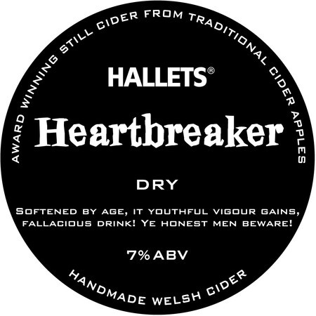 Hallets Real Cider Heartbreaker – Buy Cider online on EeBriaTrade.com