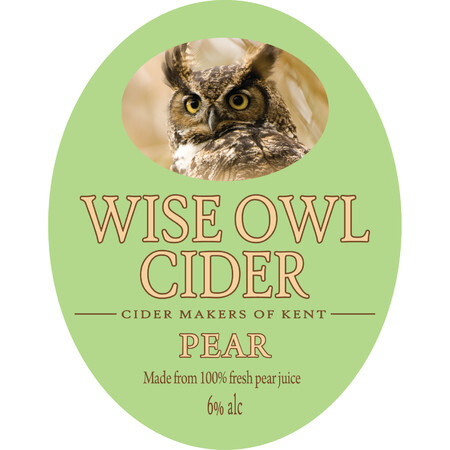 Wise Owl Cider Pear (Perry)  – Buy Cider online on EeBriaTrade.com