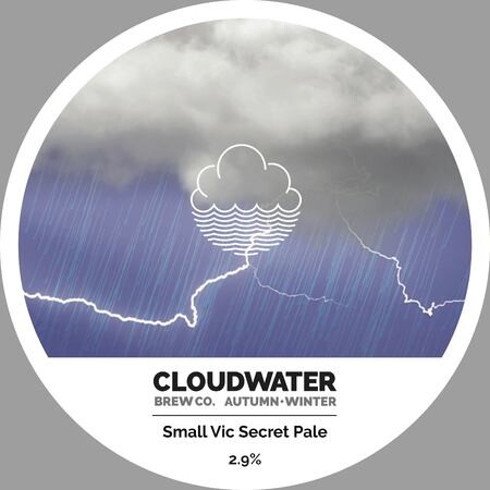 Cloudwater Brew Co Small Vic Secret Pale (406) – Buy Beer online on EeBriaTrade.com