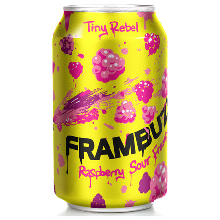 Tiny Rebel Brewing Frambuzi (Can) – Buy Beer online on EeBriaTrade.com
