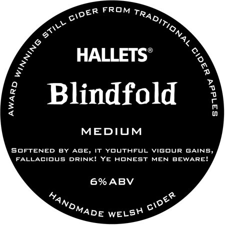 Hallets Real Cider Blindfold – Buy Cider online on EeBriaTrade.com