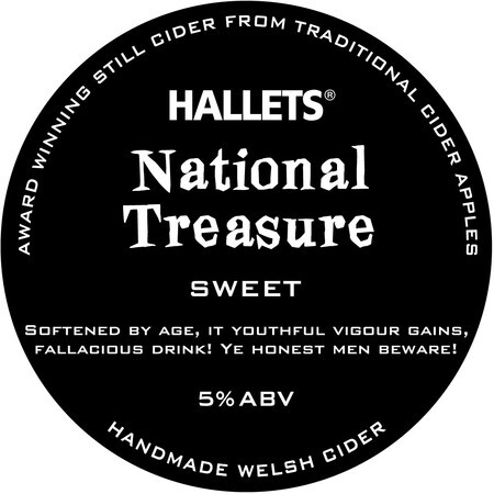 Hallets Real Cider National Treasure – Buy Cider online on EeBriaTrade.com