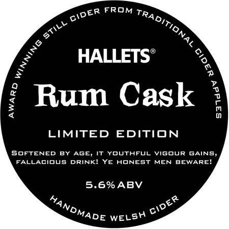 Hallets Real Cider Rum Cask – Buy Cider online on EeBriaTrade.com