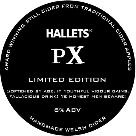 Hallets Real Cider PX – Buy Cider online on EeBriaTrade.com